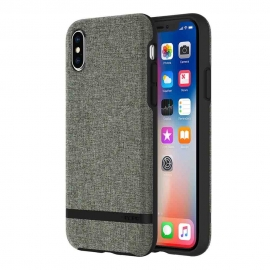 Incipio Case Esquire Series iPhone X - Forest Gray(IPH-1631-FGY)