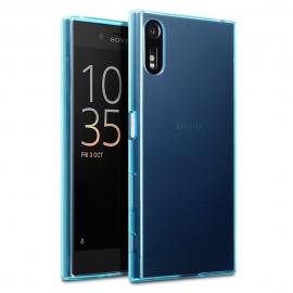 Terrapin Ημιδιάφανη Θήκη Σιλικόνης Sony Xperia XZ/ XZs - blue
