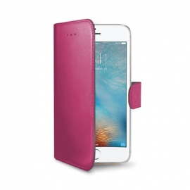 Celly Wally iPhone 7 - Pink (WALLY800PK)