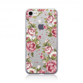 Call Candy Θήκη Σιλικόνης iPhone 7 - Rose Floral