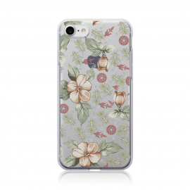 Call Candy Θήκη Σιλικόνης iPhone 7 - Vintage Floral