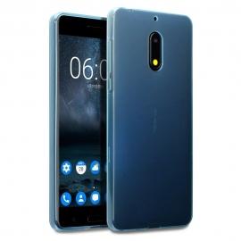 Terrapin Θήκη Σιλικόνης Nokia 6 - Blue