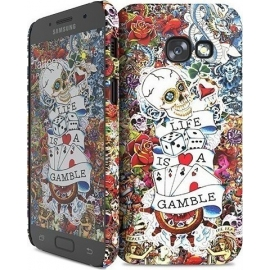 Hard Case i-Paint Tattoo Cover Samsung Galaxy A3 2017