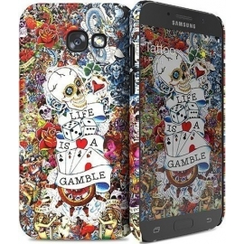 Hard Case i-Paint Tattoo Cover Samsung Galaxy A5 2017
