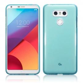 Terrapin Ημιδιάφανη Θήκη Σιλικόνης LG G6 - Blue