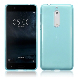 Terrapin Θήκη Σιλικόνης Nokia 5 - Blue