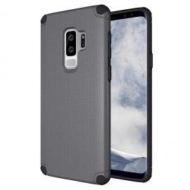 OEM Light Armor Case Rugged PC Cover Samsung Galaxy S9 Plus - Grey
