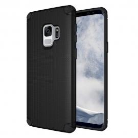OEM Light Armor Case Rugged PC Cover Samsung Galaxy S9 - Black