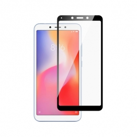 Home Screen Tempered Glass Full Cover Xiaomi Redmi 6/6A - Black