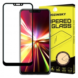Wozinsky Tempered Glass Full Glue Full Face Case Friendly Huawei Mate 20 Lite - Black