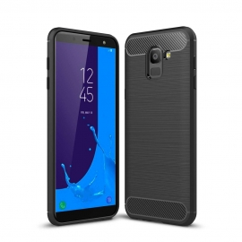 OEM Forcell CARBON Case Samsung Galaxy J6 2018 - Black
