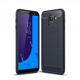 OEM Forcell CARBON Case Samsung Galaxy J6 2018 - Blue