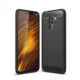 OEM Carbon Fiber TPU Xiaomi Pocophone F1 - Black (HSC049)