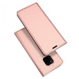Duxducis SkinPro Flip Θήκη Huawei Mate 20 Pro - Rose Gold
