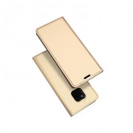 Duxducis SkinPro Flip Θήκη Huawei Mate 20 Pro - Gold
