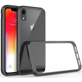 OEM Vivid Hybrid Case iPhone XS Max - Transparent Black