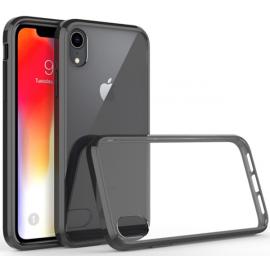 OEM Vivid Hybrid Case iPhone XR - Transparent Black