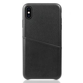 OEM Vivid Pocket Leather Case iPhone XS Max - Black