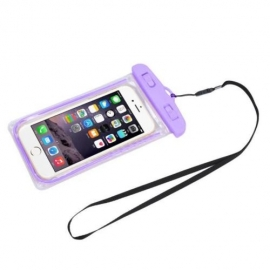 OEM Waterproof Case Universal Purple