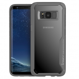 iPaky Survival Case Gel Anti-Fall Cover Samsung Galaxy S8+ - Grey