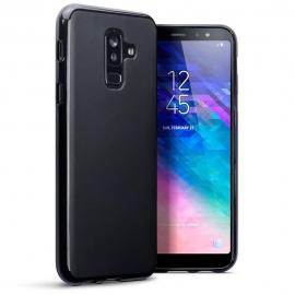Terrapin Θήκη Σιλικόνης Samsung Galaxy A6 Plus 2018 - Black