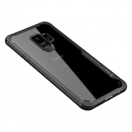 iPaky Survival Case Gel Anti-Fall Cover Samsung S9 - Black