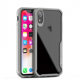 iPaky Survival Case Gel Anti-Fall Cover iPhone XR - Grey
