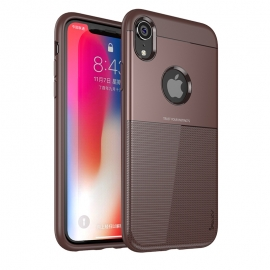 iPaky Shield case cover iPhone XR - Brown