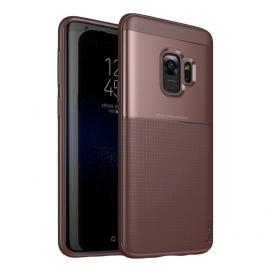 iPaky Shield case cover Samsung Galaxy S9 - Brown