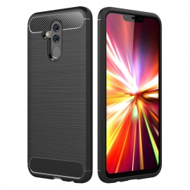 OEM TPU Carbon Back Cover Huawei Mate 20 Lite - Black