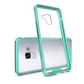 OEM Shockproof TPU Case Gel Anti-Fall Samsung Galaxy A8 2018 - Green