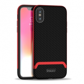 iPaky Bumblebee Neo Hybrid case PC Frame iPhone XS Max - Red