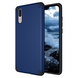 OEM Light Armor Case Rugged PC Cover Huawei P20 - Navy Blue