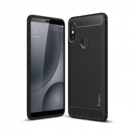 iPaky Carbon flexible cover TPU Xiaomi Mi A2 - Black