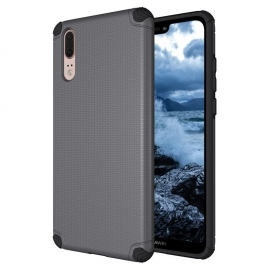 OEM Light Armor Case Rugged PC Cover Huawei P20 - Grey