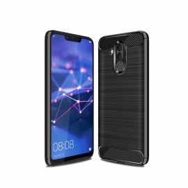 OEM Carbon Case Solid TPU Huawei Mate 20 Lite - Black