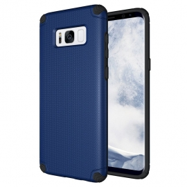 OEM Light Armor Case Rugged PC Cover Samsung Galaxy S8 Plus - Blue