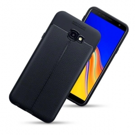 Terrapin TPU Leather Design Samsung Galaxy J4 Plus 2018 - Black (118-002-735)