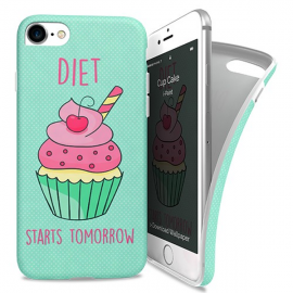 i-Paint Soft Case iPhone 7/8 Cup Cake
