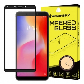 Wozinsky Tempered Glass Full Glue Case Friendly Xiaomi Redmi 6/6A - Black