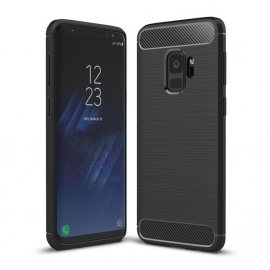 OEM Carbon Case Cover Flexible Case Samsung Galaxy S9 - Black