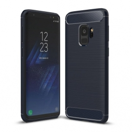 OEM Carbon Case Cover Flexible Case Samsung Galaxy S9 - Blue