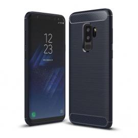 OEM Carbon Case Cover Flexible Case Samsung Galaxy S9 Plus - Blue