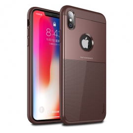 iPaky Shield case cover iPhone X/XS - Brown