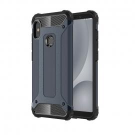 OEM Hybrid Armor Case Tough Rugged Cover Xiaomi Mi A2 - Blue