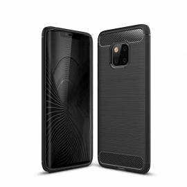 OEM Carbon Case Flexible Cover TPU Huawei Mate 20 Pro - Black
