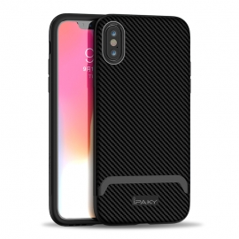 iPaky Bumblebee Neo Hybrid case PC Frame iPhone X/XS - Grey