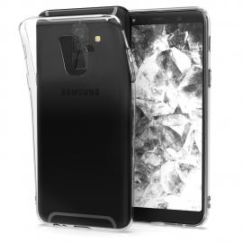 OEM Θήκη Clear Gel TPU 1.0mm Samsung Galaxy A6 Plus 2018 - Transparent