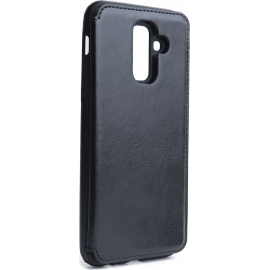 OEM Forcell Wallet Case Samsung Galaxy A6 Plus 2018 - Black