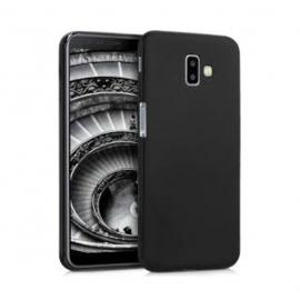 OEM Soft Matt Case Gel TPU Cover Samsung Galaxy J6 Plus 2018 - Black